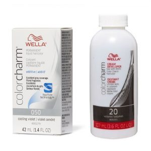 Wella Color Charm Cooling Violet O50 + Wella Developer (Vol.20)