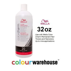 Wella Color Charm Clear Developer 20 Volume 32oz