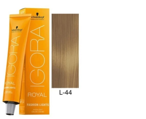 Intense Beige L 44 Schwarzkopf Royal Igora Permanent Color