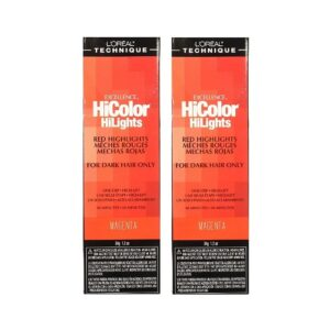 L'Oreal HiColor Magenta Red HiLights for Dark Hair Only