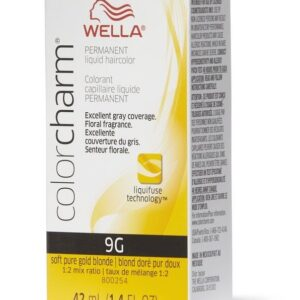 Soft Pure Golden Brown 9G Wella Color Charm Permanent Haircolor