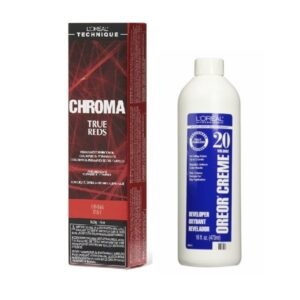 L'Oreal Chroma True Reds RUBY For Light, Dark And 100% Gray Hair