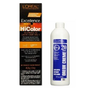 L'Oreal HiColor H4 Shimmering Gold For Dark Hair Only