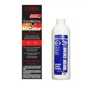 L'Oreal HiColor H7 Sizzling Copper For Dark Hair Only
