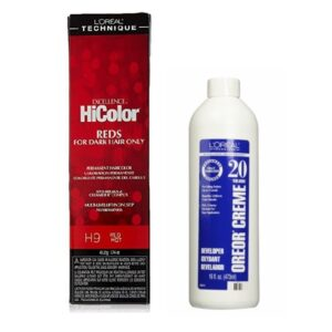 L'Oreal HiColor H9 Red Hot, Reds For Dark Hair Only