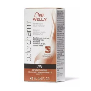 Wella 7W Caramel Color Charm Permanent Haircolour