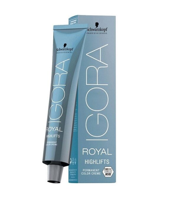 Schwarzkopf Igora Royal Highlifts 60ml, Permanent Highlight Color Creme