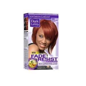 Dark & Lovely Fade Resistant Rich Conditioning Color 394 Vivacious Red