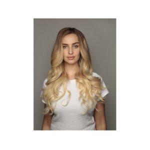 """Human Hair Seamless Clip in Extensions 16"""" 160g"""